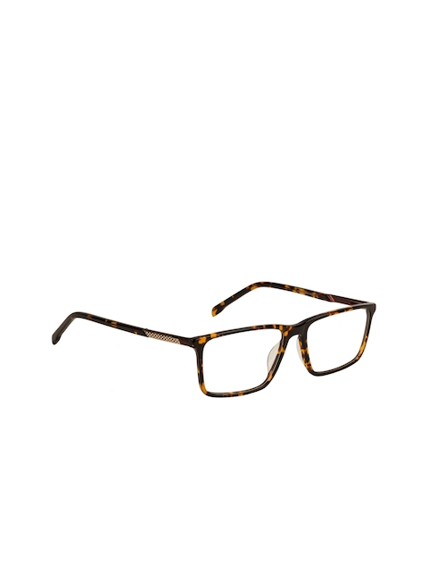 TAG EYE Unisex Brown Tortoise Shell Full Rim Square Frames SS5263TAG177