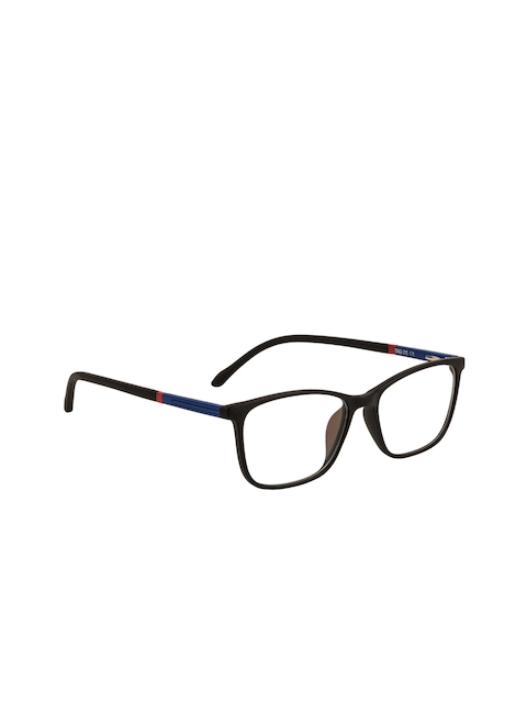 TAG EYE Unisex Black Solid Full Rim Square Frames 1905TAG202