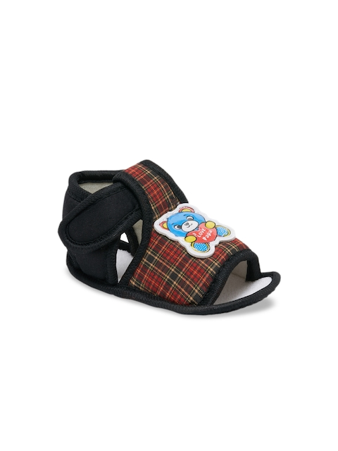 My Soul Kids Black Printed Booties