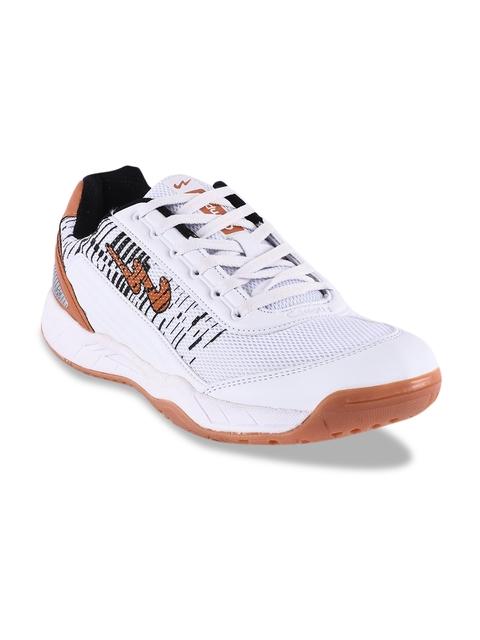 Campus Men White Cricket Shoes