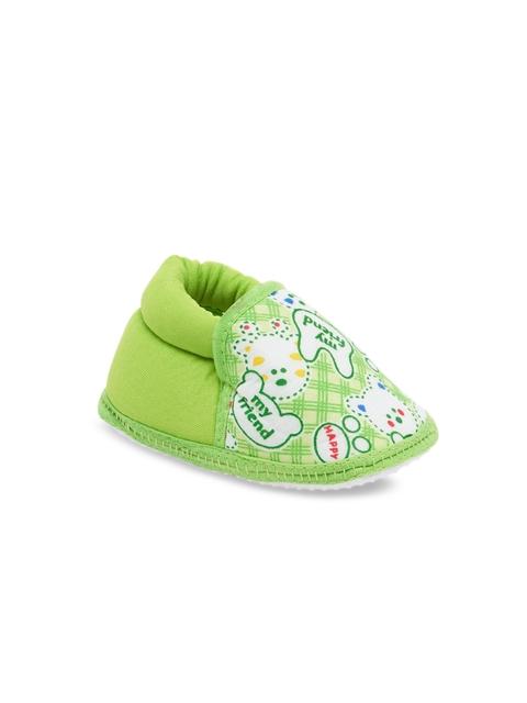 My Soul Kids Green Booties