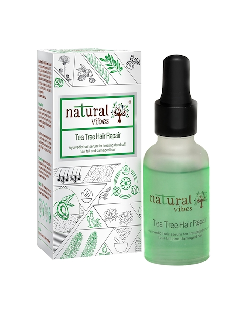Natural Vibes Unisex Ayurvedic Tea Tree Hair Repair Serum 30 ml
