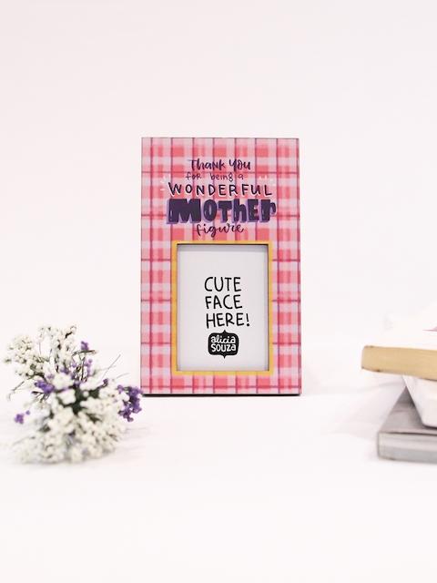 happywagon Pink Printed Photo Frames
