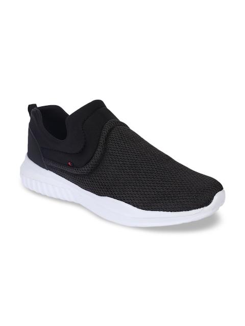 Force 10 Men Black Mesh Running Shoes