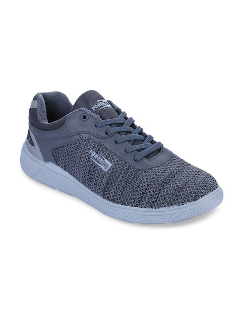 Force 10 Men Grey Synthetic Running Shoes