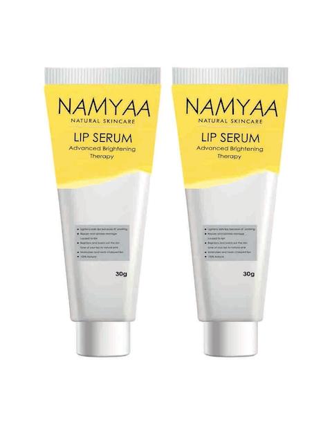 Namyaa Ensemble de 2 Lèvres de Sérums pour la Peau Tonifiant/Foudre/Hydratation/Blanchiment des 100 gm