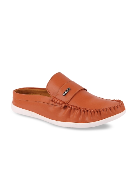 FAUSTO Men Brown Loafers