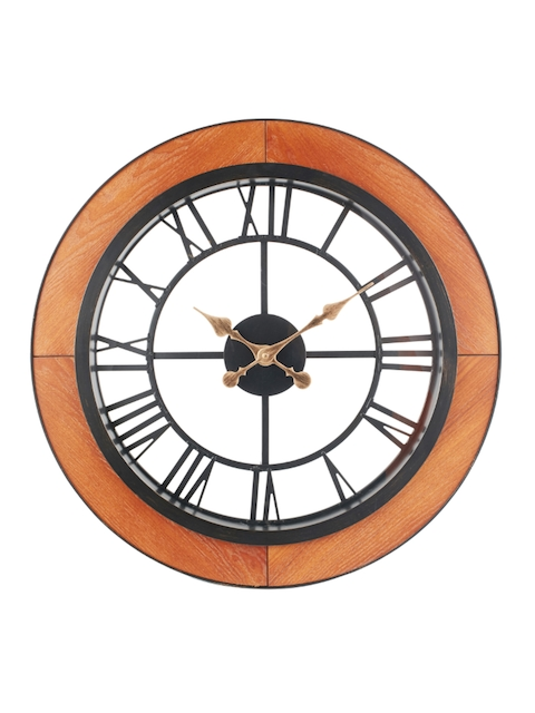 Living Essence White Round Solid Analogue Wall Clock