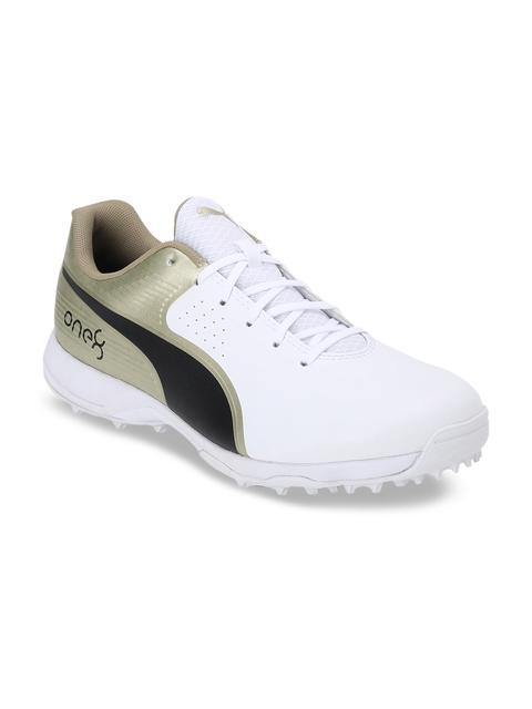 Puma Men Gold-Toned Cricket Shoes