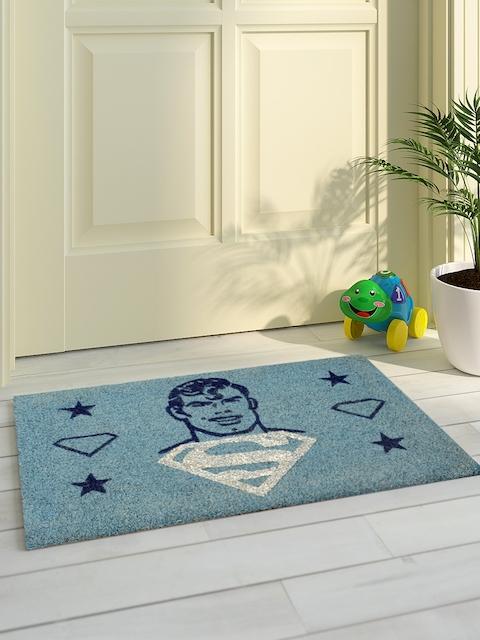 Saral Home Grey Printed Coir Anti-Skid Doormat