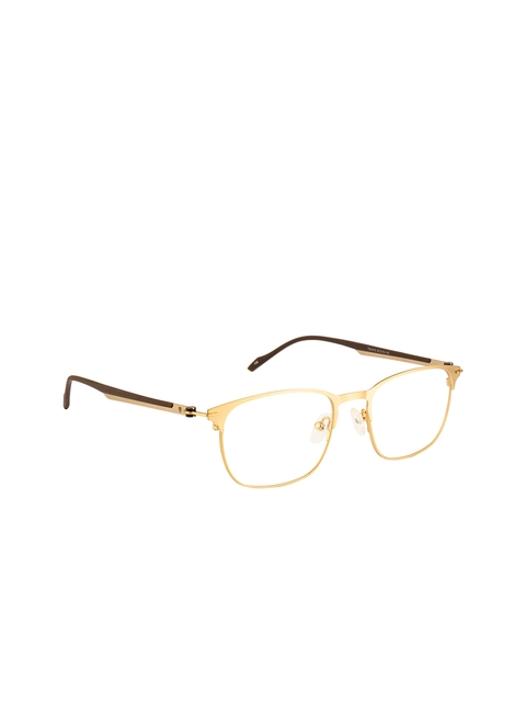 Ted Smith Unisex Transparent Solid Full Rim Wayfarer Frames TS-250_C4
