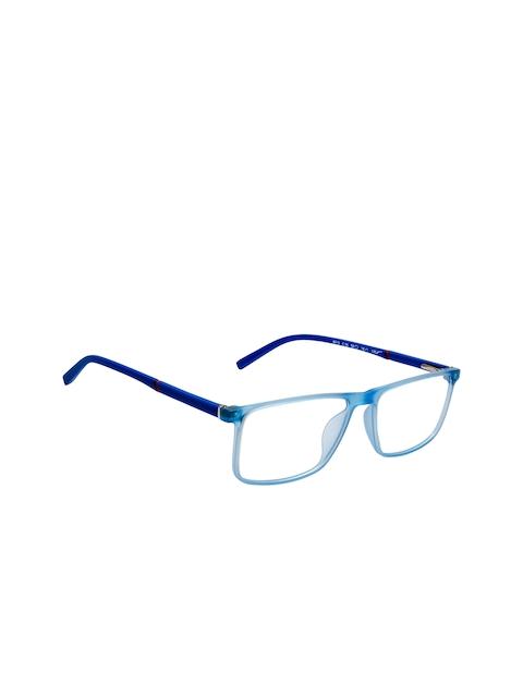 Cardon Unisex Blue Solid Full Rim Rectangle Frames EWCD2164RTR8010C36