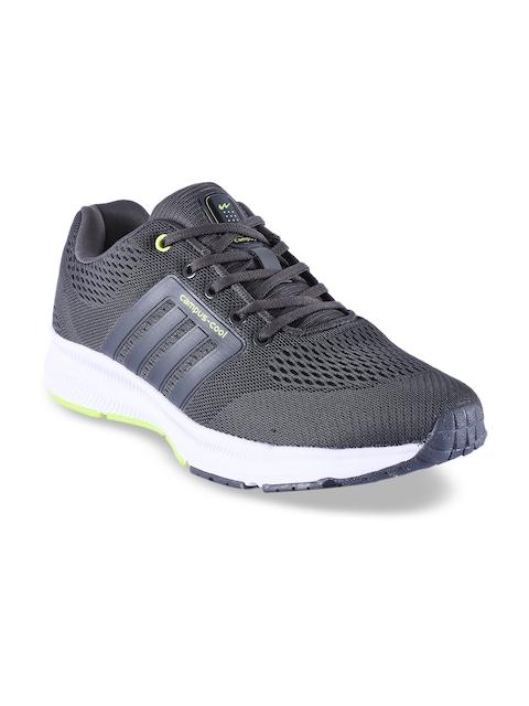 Campus Men Grey Mesh PIXELL Running Shoes