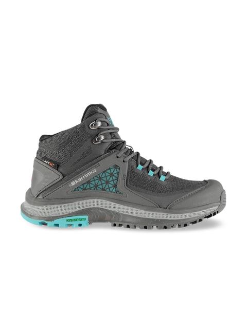 Karrimor Women Charcoal Grey Textile Walking Shoes
