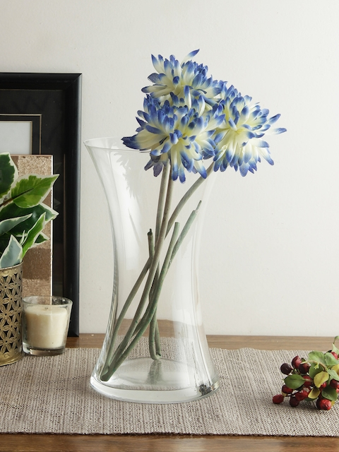 Bohemia Crystal Tranparent Glass Flower Vase