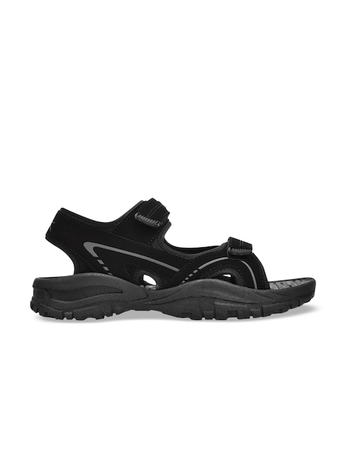 Slazenger Kids Black & Grey Sports Sandals