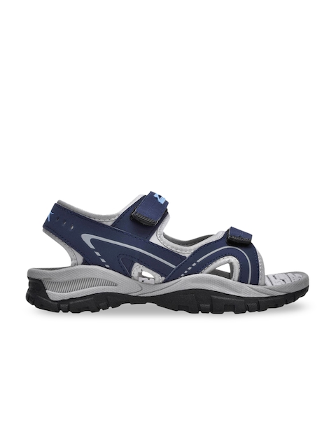 Slazenger Kids Blue & Grey Sports Sandals