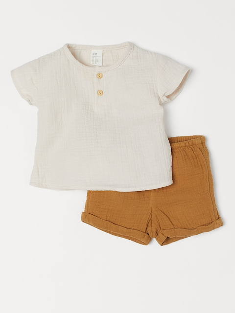 H&M Kids Henley Top and Shorts