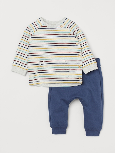 H&M Unisex Top and trousers