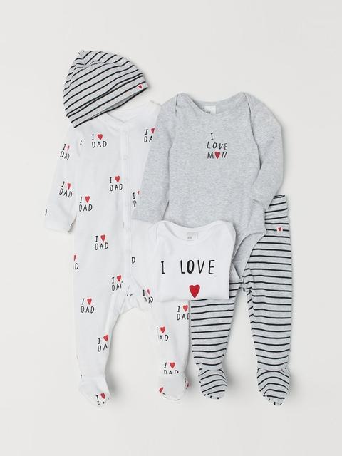 H&M Baby's 5-Piece Jersey set