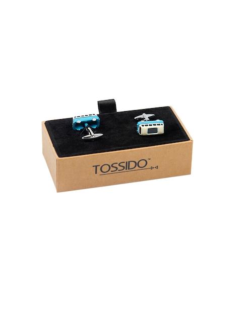 Tossido Blue Quirky Cufflinks