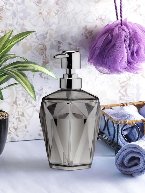 OBSESSIONS Black Glass Soap Dispenser