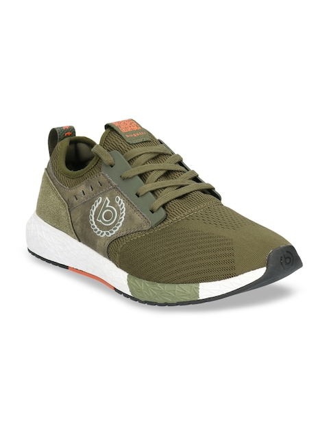 Bugatti Men Olive Green Sneakers