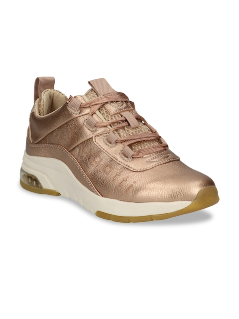 Bugatti Women Gold-Toned Sneakers