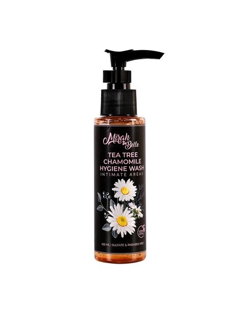 Mirah Belle de Árbol de Té de Manzanilla Aloe Vera para la Higiene Íntima de Lavado 100 ml