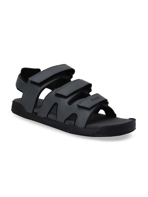 Puma Unisex Charcoal Grey Glare IDP Sports Sandals