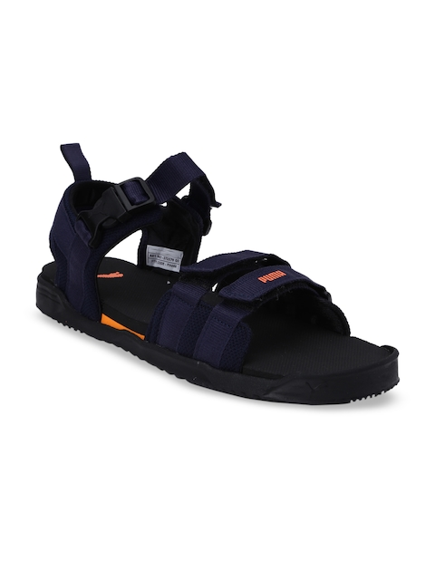 Puma Unisex Navy Blue Shifter IDP Sports Sandals