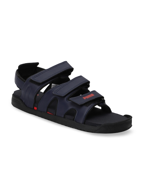 Puma Unisex Navy Blue Glare IDP Sports Sandals