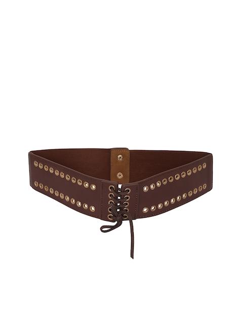 Mali Fionna Women Brown Embellished Belt
