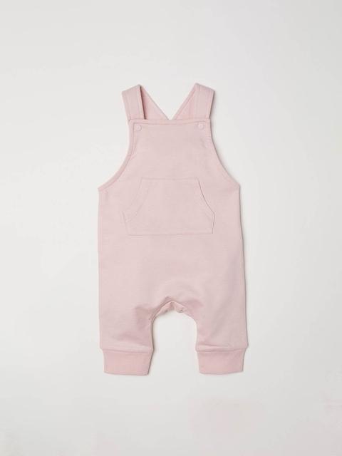 H&M Boys Pink Cotton dungarees