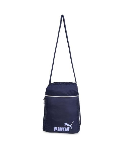 Puma Unisex Blue WMN Core Seasonal Gym Sack Shoe Bag
