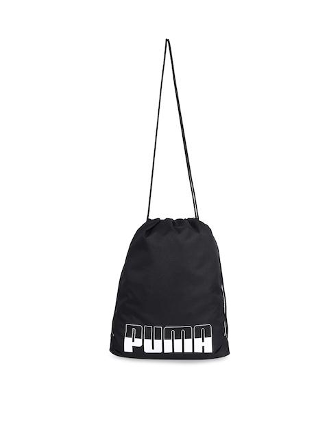 Puma Unisex Black Plus Gym Sack II Shoe Bag