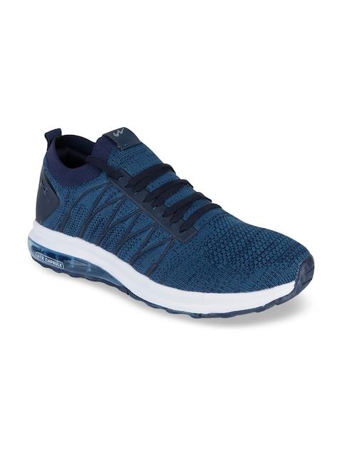 Campus Men Blue Mesh Running Shoes