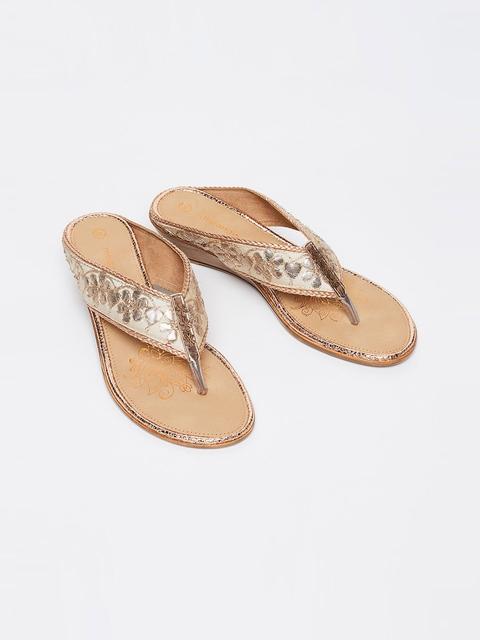 Melange by Lifestyle Women Beige Sandals