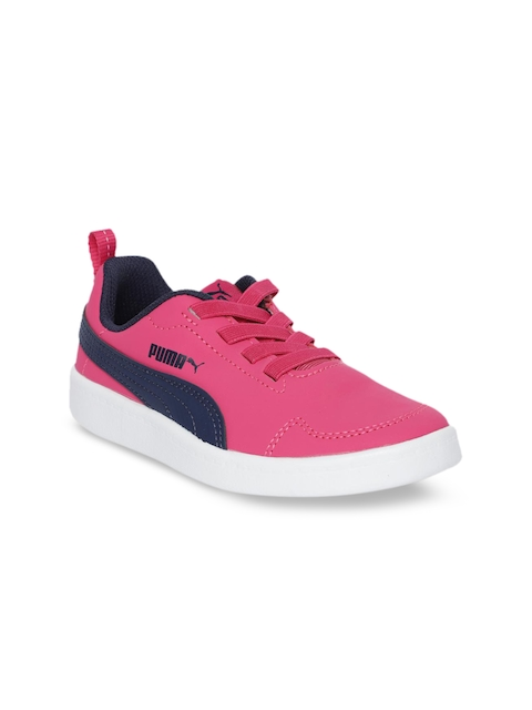 Puma Girls Pink Sneakers