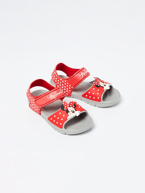 Fame Forever by Lifestyle Girls Red Printed Slip-On