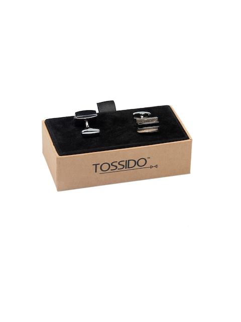 Tossido Brown Rectangle Cufflinks