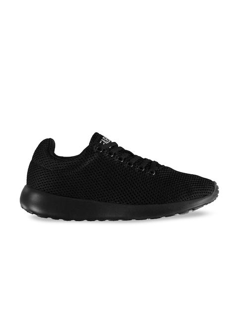 FABRIC Kids Black Mesh Calzini Mesh Training or Gym Shoes