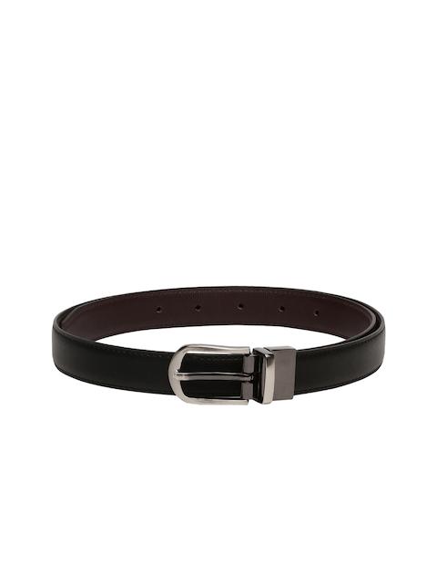 CHISEL Women Black & Brown Textured Reversible Belt