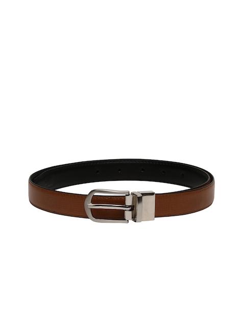 CHISEL Women Brown & Black Solid Reversible Belt