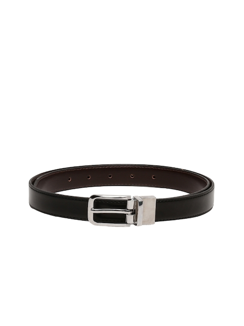 CHISEL Women Black & Brown Reversible Solid Belt