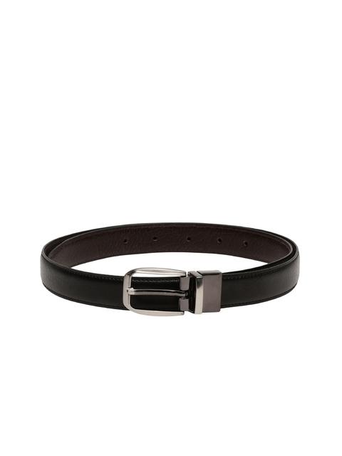 CHISEL Women Black & Brown Solid Reversible Belt
