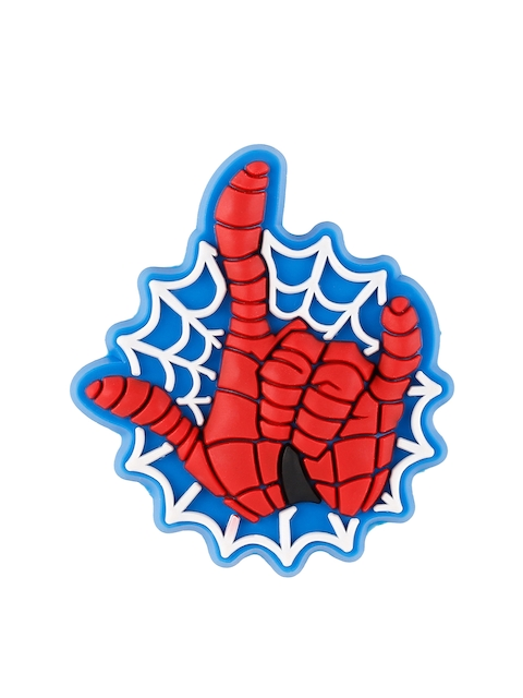Crocs Unisex Red & Blue Spider-Man Hand Jibbitz Shoe Charm