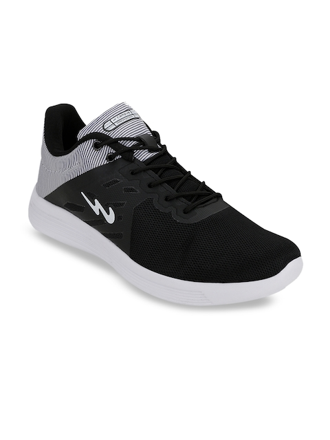 Campus Men Black ETHAN Running Shoes