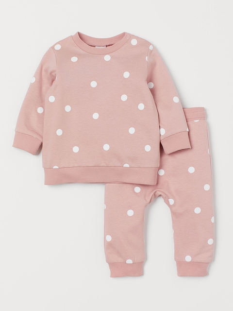 H&M Kids Pink 2 Piece Cotton Set