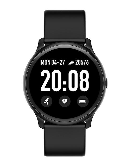 FitSpark Unisex Black NEXA Super Slim Round Bezel Multi-Sports Mode Smartwatch Nexa_Black